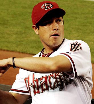Rodrigo López (baseball) - López with the Arizona Diamondbacks