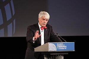 Roger Wilkins (public servant) - Wilkins in London, 2011