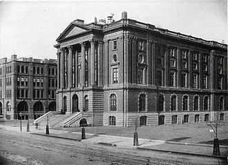 Campus of the Massachusetts Institute of Technology - The original Rogers Building, MIT's first home