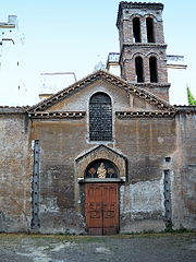 Rome, Trastevere chiesa di Santa Maria in Cappella