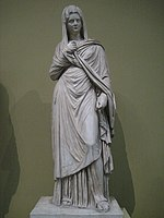 Roman empress, 1st century (cast in Pushkin museum after original in Vatican) 01 by shakko.jpg