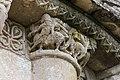 Romanesque capital church Saint Sulpicius Marignac Charente Maritime.jpg