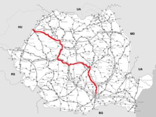 road in Romania