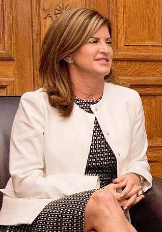 Official Opposition Shadow Cabinet of the 42nd Parliament of Canada - Image: Rona Ambrose 2017 (35750557332) (cropped)
