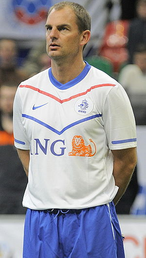 Ronald de Boer - Ronald de Boer in Netherlands colours