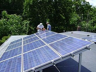 Solar power in New York - Installing rooftop solar panels in Poughkeepsie