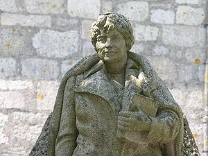 Rosalía de Castro - Statue of Rosalía de Castro at Padrón.
