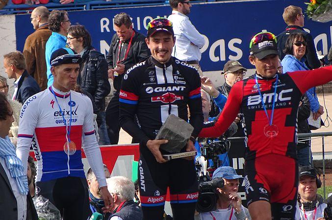 Roubaix - Paris-Roubaix, 12 avril 2015, arrivée (B33).JPG