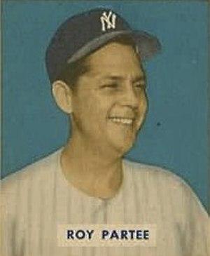 Roy Partee - Partee's 1949 Bowman Gum baseball card