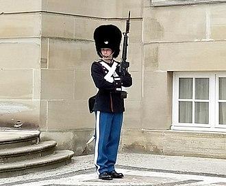 Royal Life Guards (Denmark) - Image: Royal Danish Life Guard (2017) 02