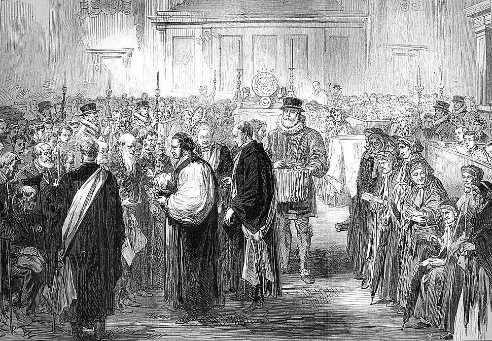 Royal Maundy 1867