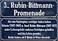 Rubin-Bittmann-Promenade Straßenschild (Wien).jpg