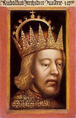 Portret księcia Rudolfa IV