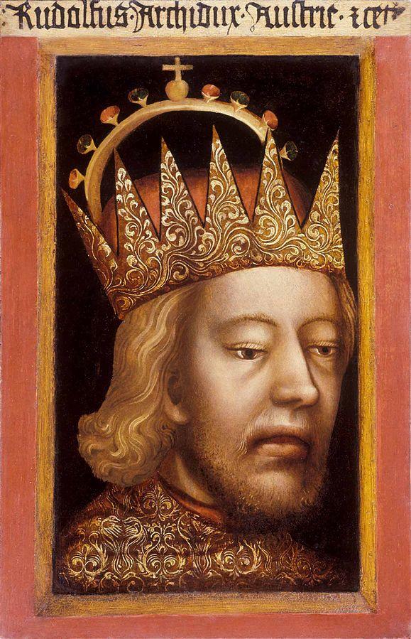 Porträt Rudolphs IV. von Habsburg