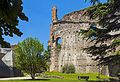 Ruined wall of Castello Visconteco, Trezzo sull'Adda, Italy.jpg