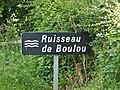 Ruisseau Boulou Le Lonzac D3E3 panneau.jpg