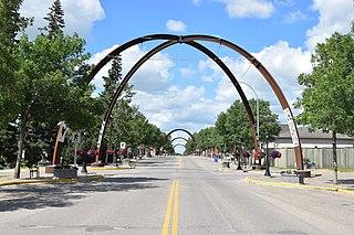 Russell, Manitoba Unincorporated urban community in Manitoba, Canada