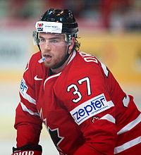 Ryan O'Reilly - Switzerland vs. Canada, 29th April 2012.jpg