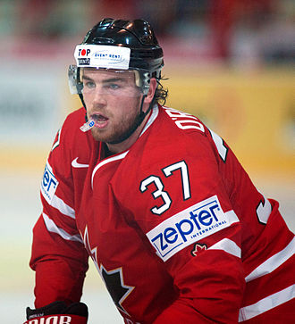 Ryan O'Reilly (ice hockey) - Image: Ryan O'Reilly Switzerland vs. Canada, 29th April 2012
