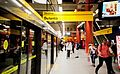 São Paulo Subway - A yellow session. People going home.jpg