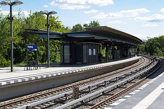Priesterweg station - The platforms in May 2014