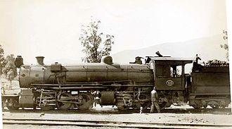 South African Class MC1 2-6-6-0 - Image: SAR Class MC1 1635 (2 6 6 0)