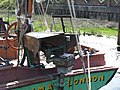 SB Decima at Dartford Lock screw steering gear 8733.jpg