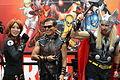 SDCC 2012 - Black Widow, Hawkeye & Thor (7574210918).jpg