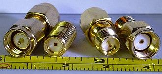 SMA connector - SMA Male connector, SMA Female Connector, RP-SMA Female Connector, RP-SMA Male Connector