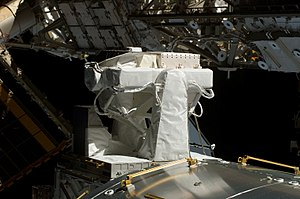 SOLAR (ISS) - Image: STS 122 Sun Monitoring on the External Payload Facility of Columbus (Solar)