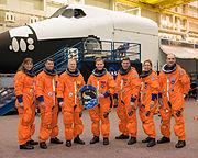 STS-126 crew