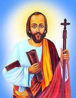Thomas the Apostle Early Christian, one of the twelve apostles and a saint