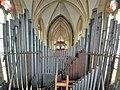Saarbrücken-Burbach, St. Eligius (Weise-Orgel, Schwellwerksdach) (2).jpg