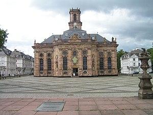 Saarbrücken - The Ludwigskirche (Ludwig Church)