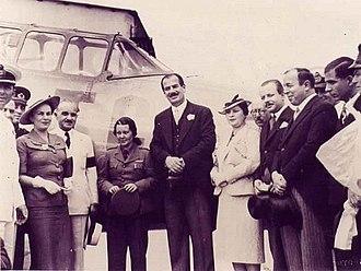 Sabiha Gökçen - Sabiha Gökçen in Athens, during her 1938 Balkan tour.