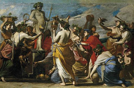 Sacrificio a Baco (Massimo Stanzione)