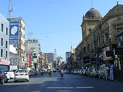 Saddar Town was divided into 11 Union Councils