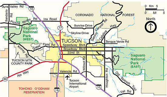 Saguaro National Park Travel guide at Wikivoyage