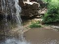 Saharna small waterfall (3842397268).jpg