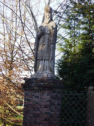 Les Jonquerets-de-Livet - Image: Saint Martin de Livet en Ouche
