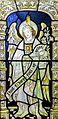 Saint Gabriel - stained glass window in the cloisters of Chester Cathedral.jpg