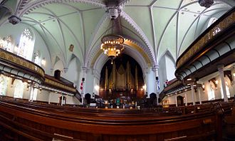 St. James United Church (Montreal) - Image: Saint James, Montréal 2