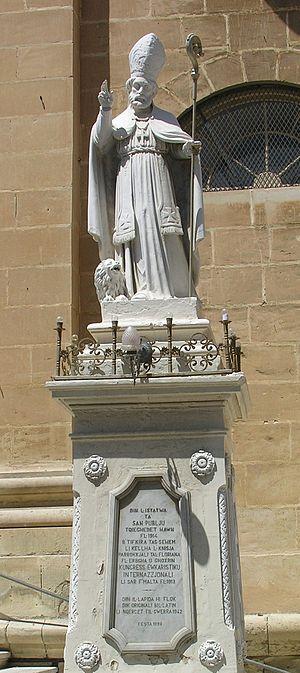 Saint Publius - Image: Saint Publius 2