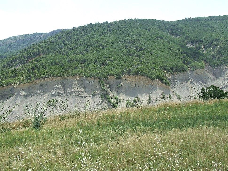 Salàs de Pallars. Els ensulsiats del barranc de Fontfreda