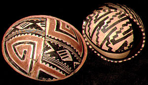 Tonto National Monument - Salado Polychrome pottery from Tonto National Monument