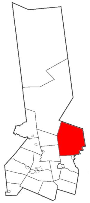 Salisbury, Herkimer County, New York - Location of Salisbury in Herkimer County