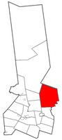 Location of Salisbury in Herkimer County