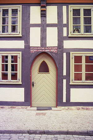 Salzwedel - Half-timbered house