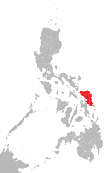 Samar Island Location Map Red.png