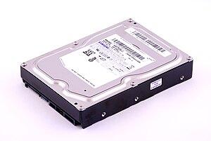 Disk storage - Image: Samsung HD753LJ 01 Top